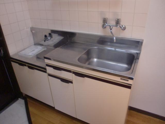 ガスコンロ対応のキッチン(キッチン)