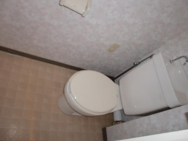シンプルなトイレです。
