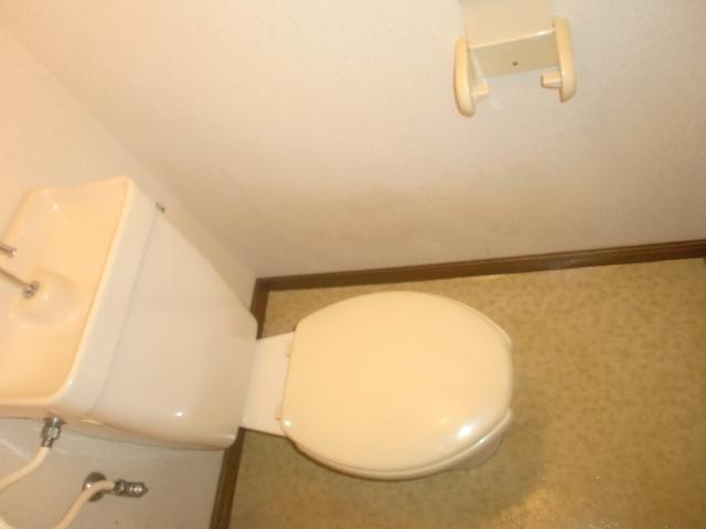 シンプルなトイレです!