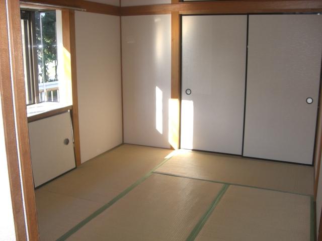 約6帖の和室です。