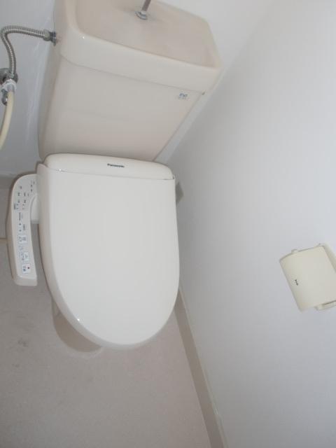 トイレの様子です。