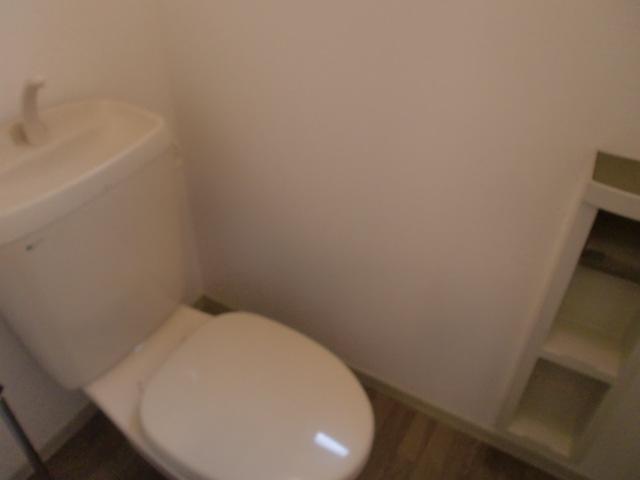 トイレの様子です!