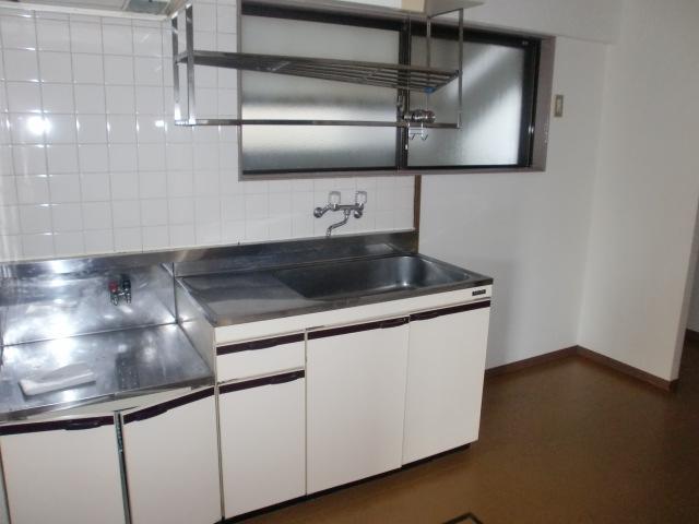 ガスコンロ対応のキッチンです☆(キッチン)