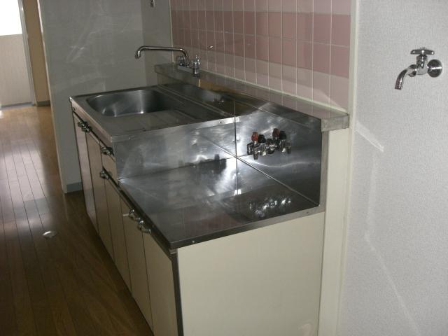ガスコンロ対応のキッチンです!(キッチン)