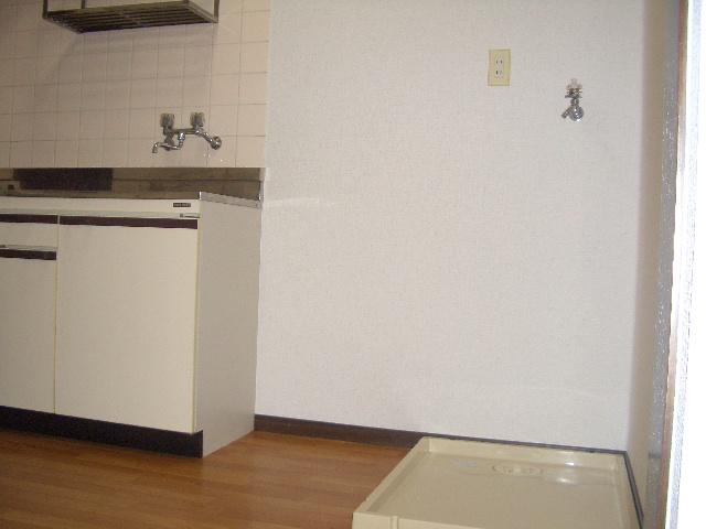 室内洗濯機置き場ございます!