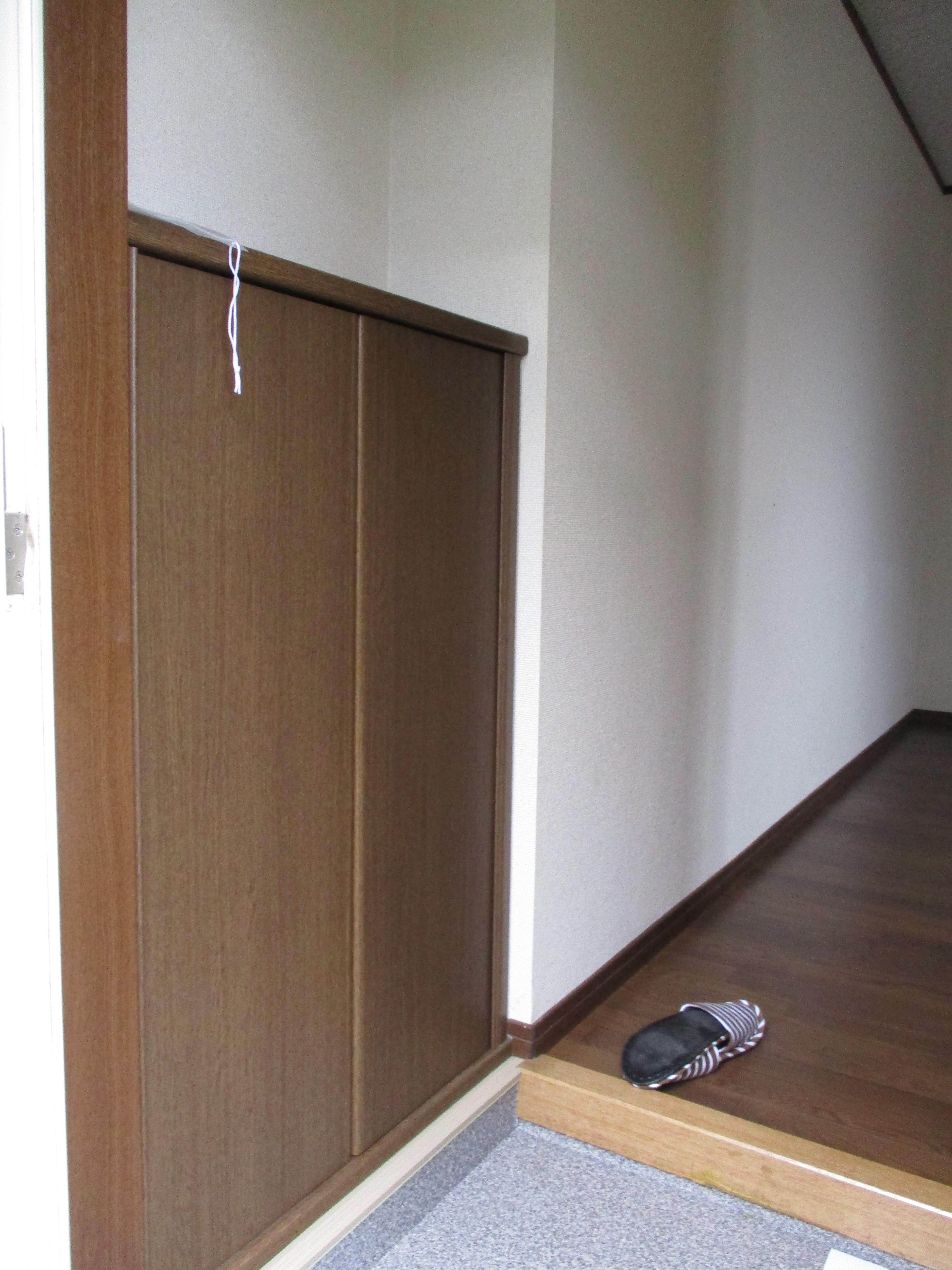 シューズボックス付きの玄関です!(玄関)